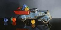 Antique Toy Truck Fine Art Print