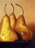 Three Pears on Stonehenge Fine Art Print