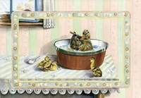 Soup And Quackers Fine Art Print