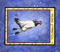 Chicken Of The Sea Fine Art Print