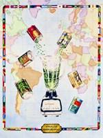 Visualize World Peas Fine Art Print