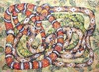 Coral Snake Ouroboros Fine Art Print