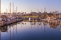 Marina Reflected Framed Print