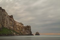 Morro Rock's Edge Fine Art Print