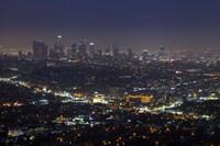 LA Skyline Fine Art Print
