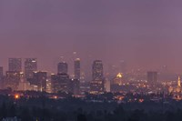 LA's Early Morning Light Fine Art Print