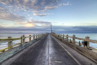 Carpinteria Pier View I Framed Print