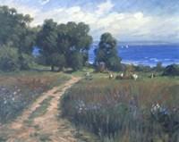 Pathway To The Sea Fine Art Print