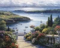 Harbor Garden Fine Art Print