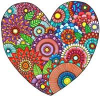 Floral Heart Fine Art Print