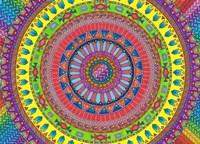 Aztec Rainbow Fine Art Print