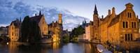 Panorama Brugge Fine Art Print