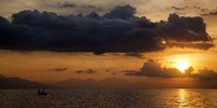 Panorama Sunset No 1 Framed Print