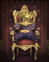 The Frog Prince Fine Art Print