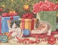 Santa's Helpers Fine Art Print