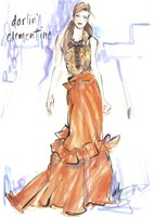 Darlin' Clementine Fine Art Print