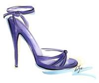 Va Va Violet Fine Art Print