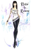 Rockin The Runway Fine Art Print