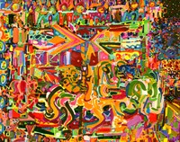 Electric Carnival Fine Art Print