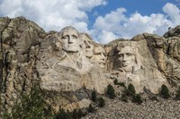 Mount Rushmore In Day Fine Art Print