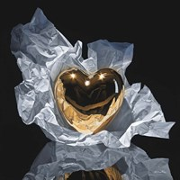 Heart Of Gold Fine Art Print