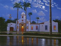 Boca Raton Town Hall, FL Fine Art Print