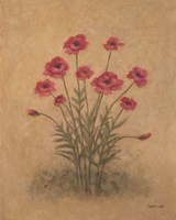 Bunch of Red Poppies Fine Art Print