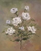 Floral G Framed Print