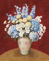 Floral O Fine Art Print
