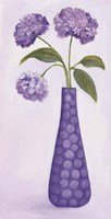 Purple Vase 1 Fine Art Print
