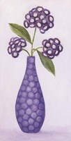 Purple Vase 2 Framed Print