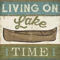 By the Lake II Framed Print
