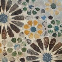 Alhambra Tile II Framed Print