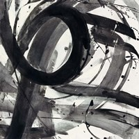 Roller Coaster II on White Framed Print