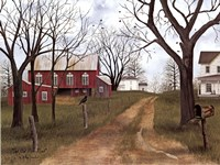 The Old Dirt Road Fine Art Print