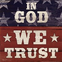 In God We Trust Fine Art Print
