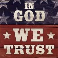In God We Trust Fine Art Print
