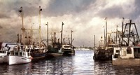 Harborside Fine Art Print