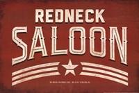 Redneck Saloon Fine Art Print