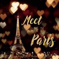 Meet Me in Paris Framed Print