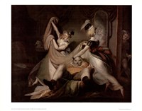 Falstaff In The Washbasket Fine Art Print