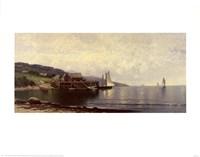 Landing, Bailey Island Me Fine Art Print
