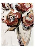 Persimmon Blooms Fine Art Print