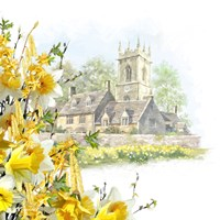 Easter Scene Fine Art Print