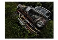 Rusty Auto III Framed Print