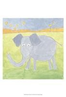 Quinn's Elephant Framed Print