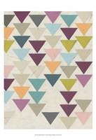 Confetti Prism VII Framed Print