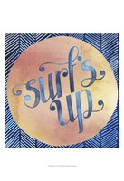 Surf's Up II Framed Print