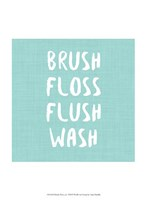 Brush, Floss etc Fine Art Print