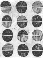Symbol Imprint I Framed Print